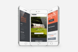 Airstream Hire Website