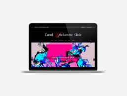 Carol Mackenzie Gale eCommerce Website